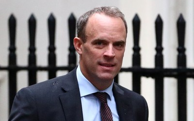 Asked if Washington would be able to 'jack up prices', Dominic Raab replies: 'The Americans will take their decisions'