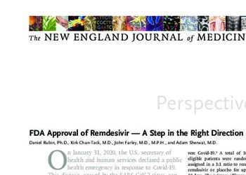 FDA Approval of Remdesivir