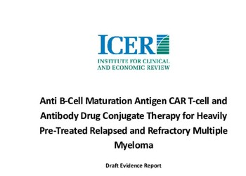 Anti B-Cell Maturation Antigen CAR T-cell and Antibody Drug Conjugate Therapy for Heavily Pre-Treated Relapsed and Refractory Mu