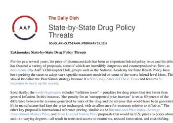 State-by-State Drug Policy Threats