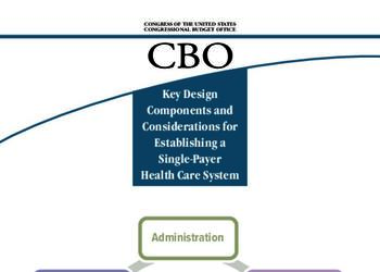 Key Design Components and Considerations for Establishing a Single-Payer Health Care System