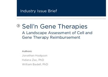 A Landscape Assessment of Cell and Gene Therapy Reimbursement