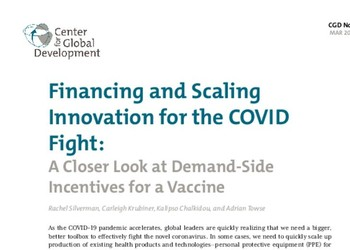 A Closer Look at Demand-Side Incentives for a Vaccine