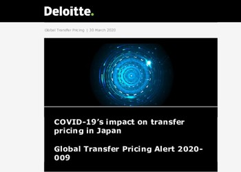 This article explores potential transfer pricing implications of COVID-19 on common operating models in Japan and looks at possi