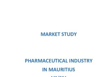 The Pharmaceutical Industry in Mauritius